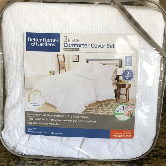 NEW King comforter cover set